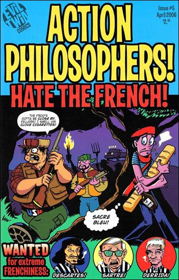 Action Philosophers 5-A by Evil Twin Comics