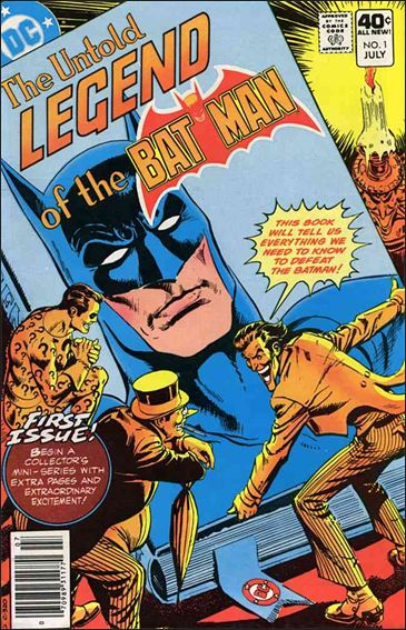 Untold Legend of the Batman 1-A by DC