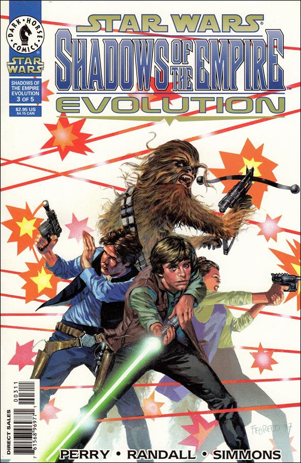 Star Wars: Shadows of the Empire - Evolution 3-A by Dark Horse