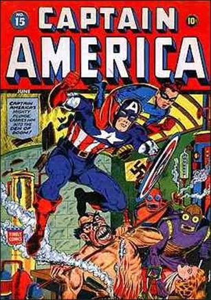 Captain America Comics (1941) 15-A