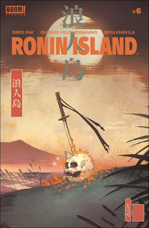 Ronin Island 6-A by Boom! Studios