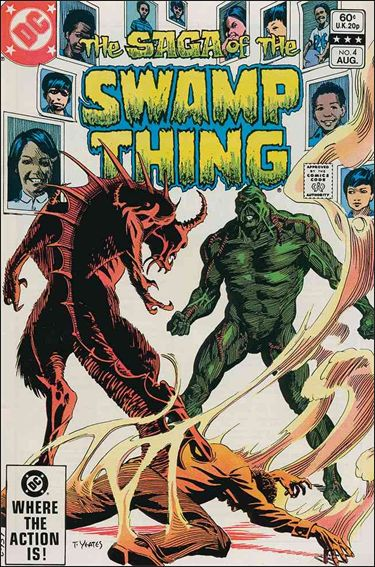 Saga of the Swamp Thing 4-A by DC
