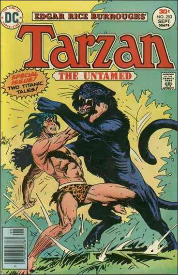 Tarzan (1972) 253-A by DC