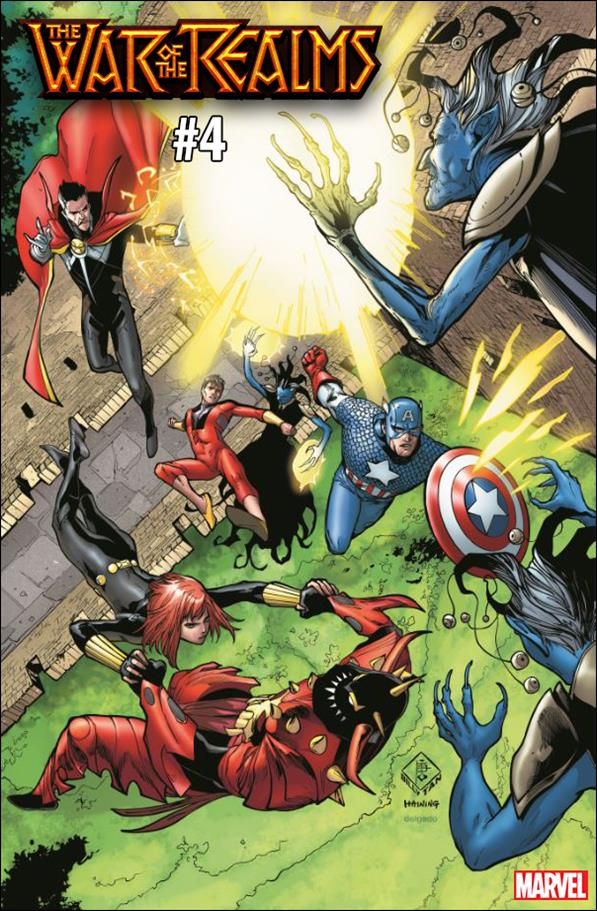 War of the Realms 4-D by Marvel
