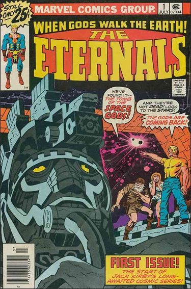 Eternals (1976) 1-A by Marvel