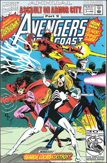 Avengers West Coast Annual 7-A by Marvel