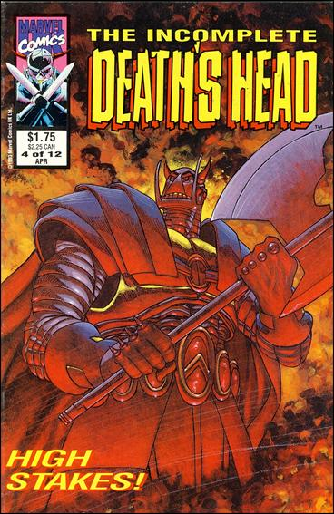 Incomplete Death's Head (UK) 4-A by Marvel UK
