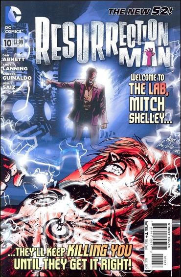 Resurrection Man (2011) 10-A by DC