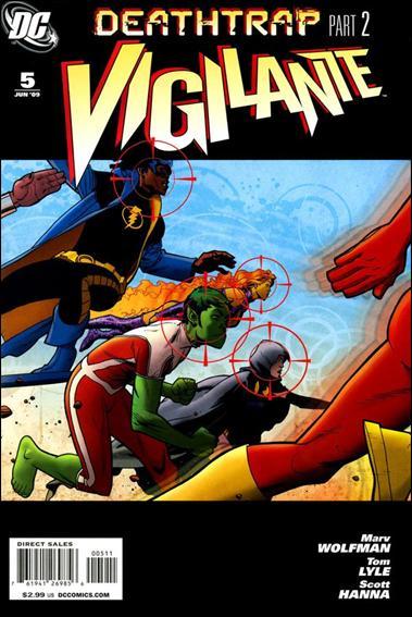 Vigilante (2009) 5-A by DC