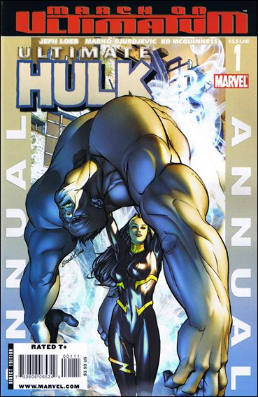 Ultimate Hulk Annual 1-A by Marvel