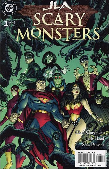 JLA: Scary Monsters 1-A by DC