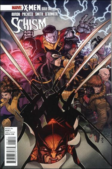 X-Men: Schism 1-C by Marvel