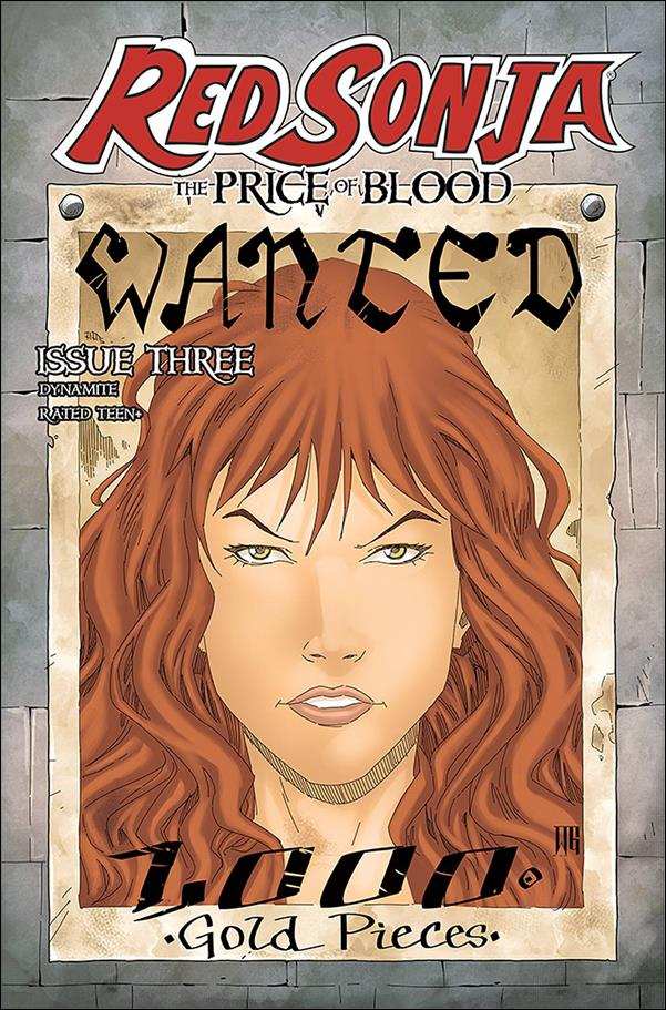 Red Sonja: Price of Blood 3-D by Dynamite Entertainment