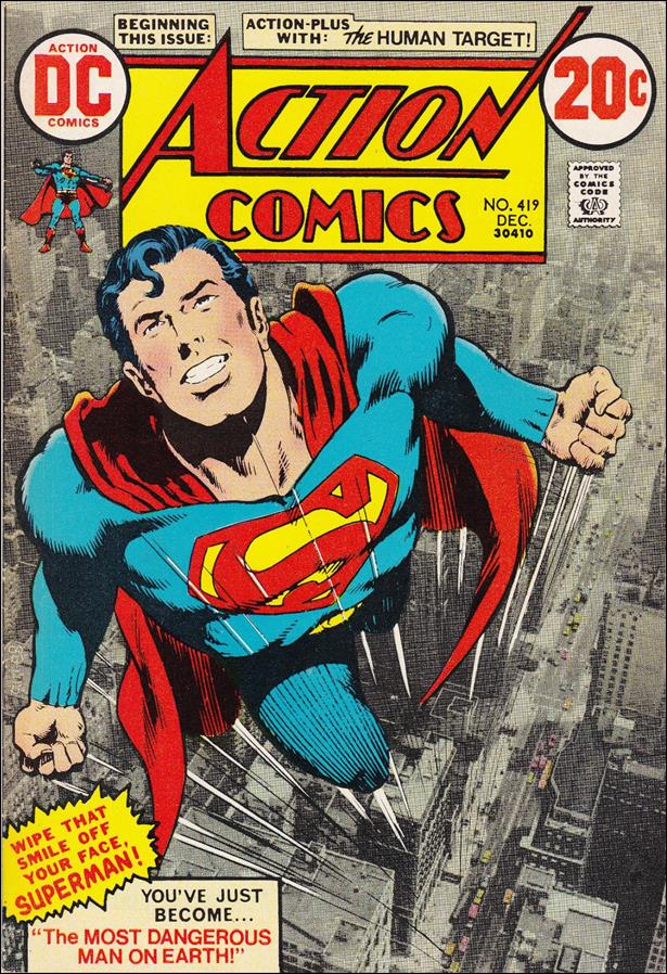 Action Comics (1938) 419-A by DC