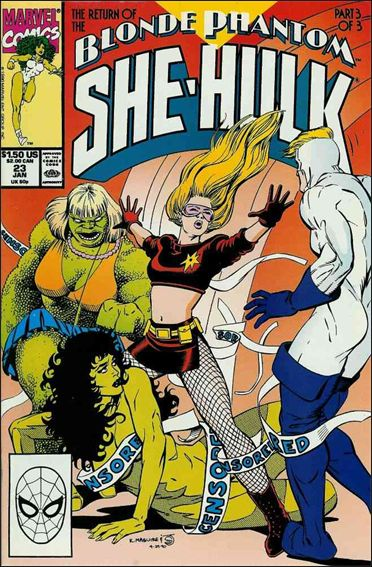 Sensational She-Hulk 23-A by Marvel