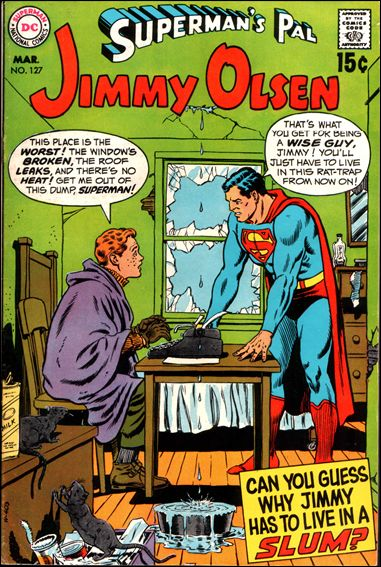 Superman's Pal Jimmy Olsen 127-A by DC