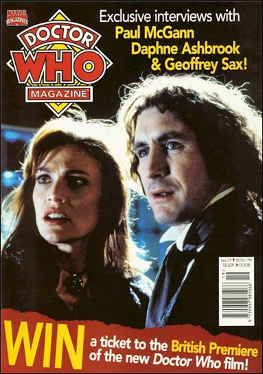 Doctor Who Magazine 238-A by Marvel UK