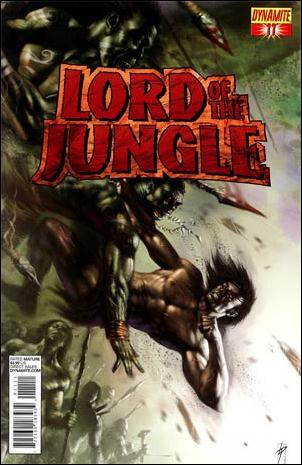 Lord of the Jungle 11-A by Dynamite Entertainment