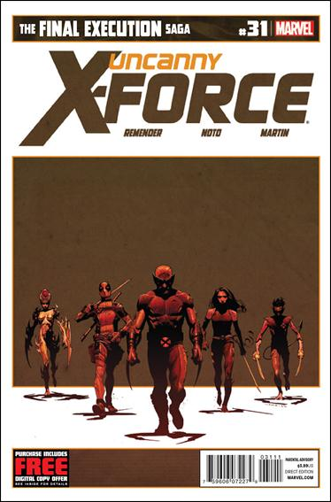 Uncanny X-Force (2010) 31-A by Marvel