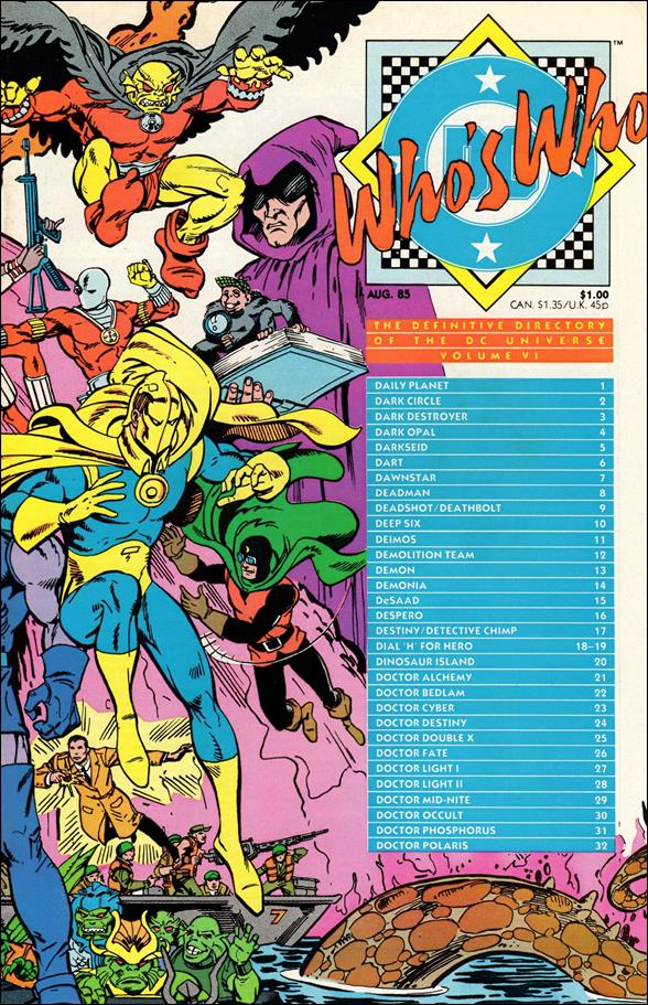 Who's Who: The Definitive Directory of the DC Universe 6-A by DC
