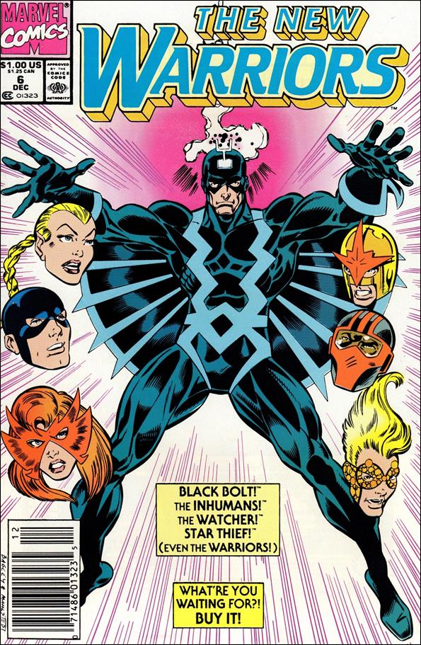 New Warriors (1990) 6-A by Marvel