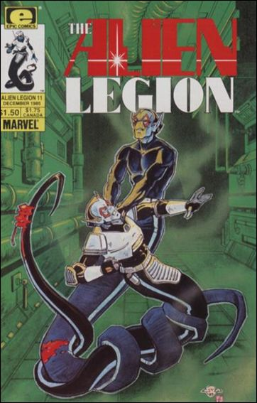 Alien Legion (1984) 11-A by Epic