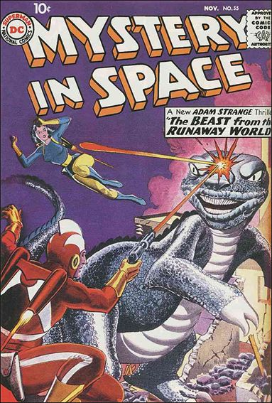Mystery in Space (1951) 55-A by DC