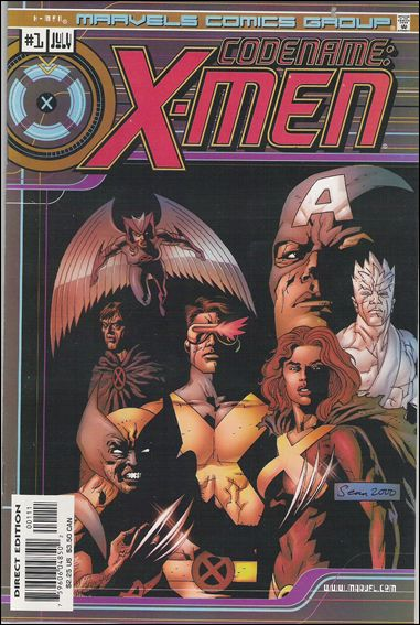 Marvels Comics: X-Men 1-A by Marvel
