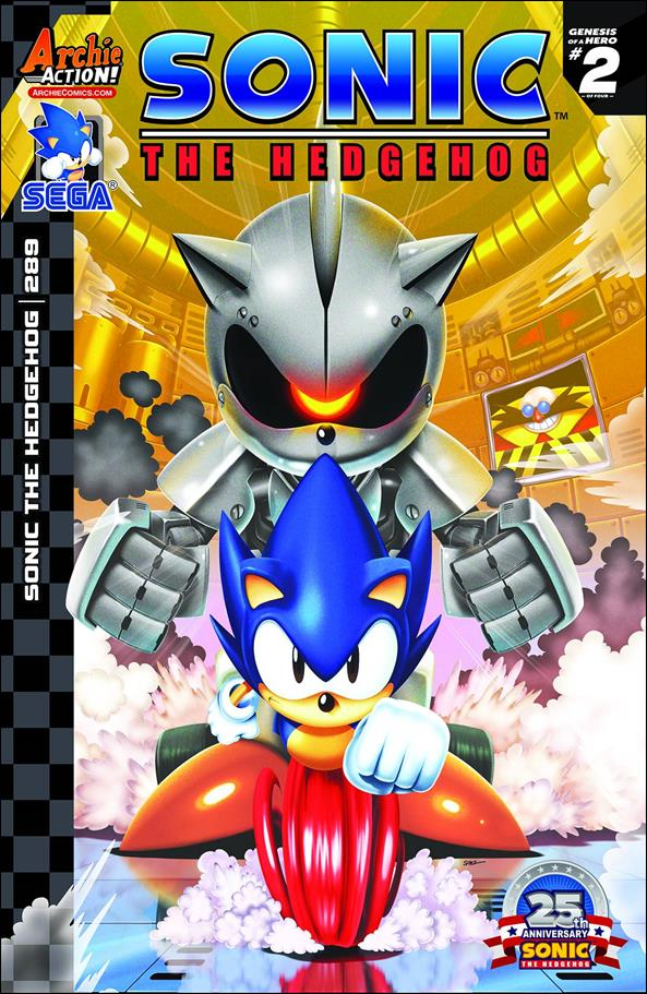 Sonic the Hedgehog (1993) 289-A by Archie