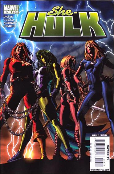 She-Hulk (2005) 34-A by Marvel