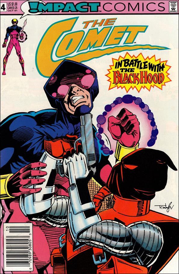 Comet (1991) 4-A by Impact Comics