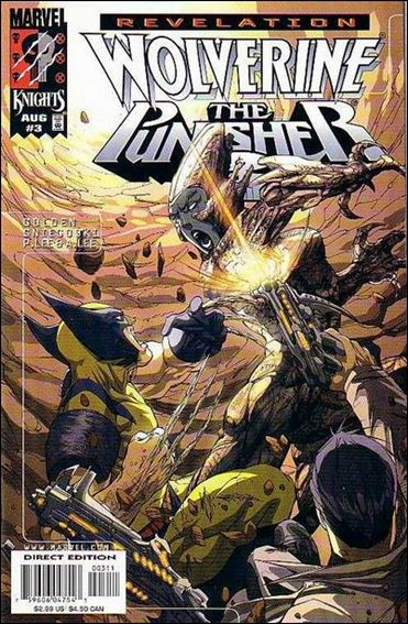 Wolverine/Punisher Revelation 3-A by Marvel