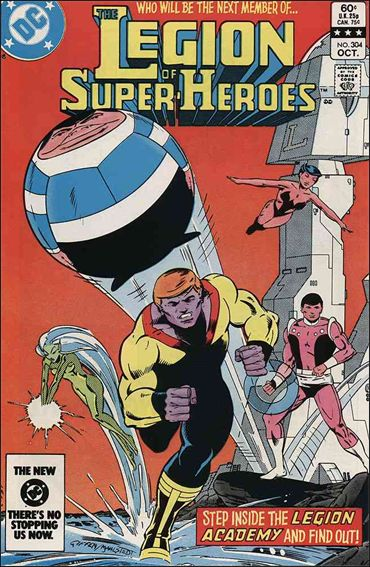 Legion of Super-Heroes (1980) 304-A by DC