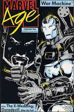 Marvel Age 133-A by Marvel
