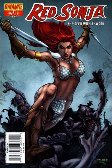 Red Sonja 38-A by Dynamite Entertainment