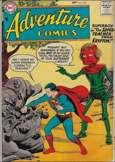 Adventure Comics (1938) 240-A by DC
