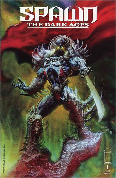 Spawn: The Dark Ages 1-A by Image