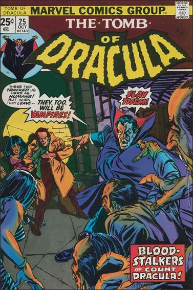 Tomb of Dracula (1972) 25-A by Marvel