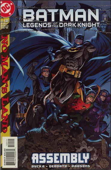 Batman: Legends of the Dark Knight 120-A by DC