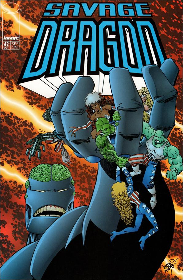 Savage Dragon (1993) 42-A by Image