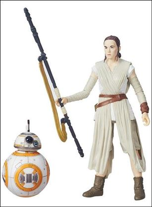 Star Wars: The Force Awakens: The Black Series Rey (Jakku) & BB-8 (Loose)