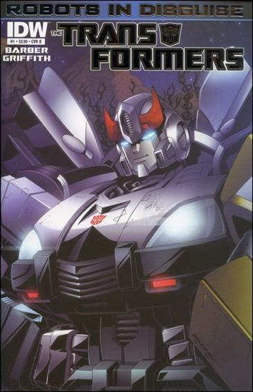 Transformers: Robots in Disguise 1-B by IDW