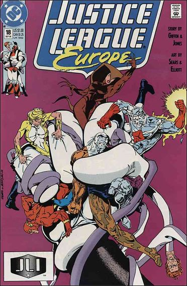 Justice League Europe 18-A by DC