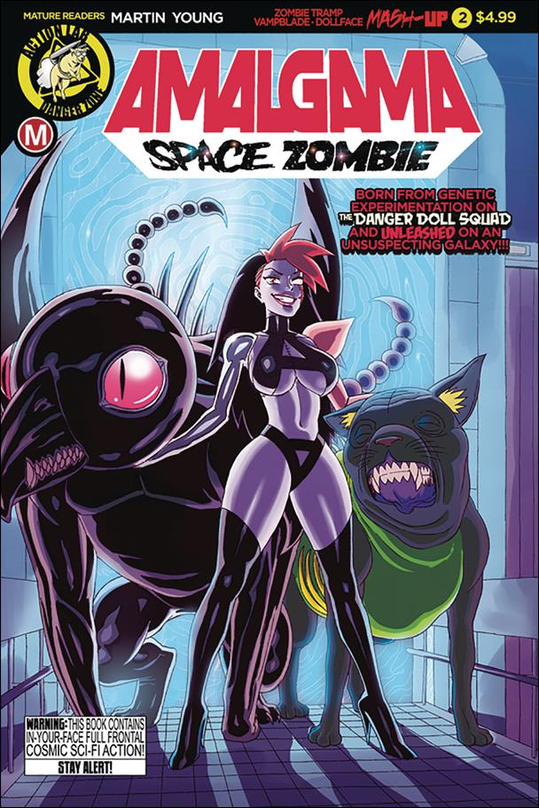Amalgama: Space Zombie 2-A by Action Lab: Danger Zone