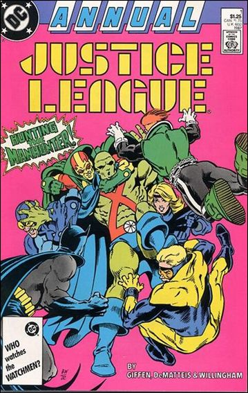 Justice League Annual 1-A by DC