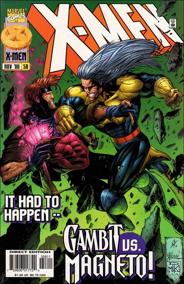 X-Men (1991) 58-A by Marvel