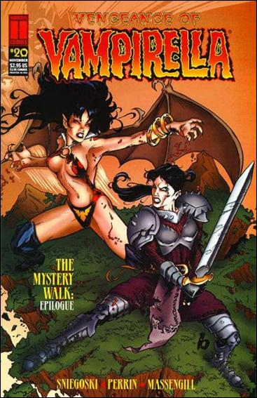 Vengeance of Vampirella 20-A by Harris