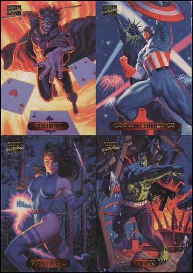 1994 Marvel Masterpieces (Promo) nn4-A by Fleer