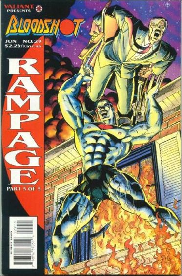 Bloodshot (1993) 29-A by Valiant