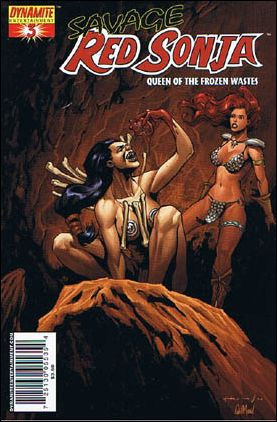 Savage Red Sonja: Queen of the Frozen Wastes 3-C by Dynamite Entertainment